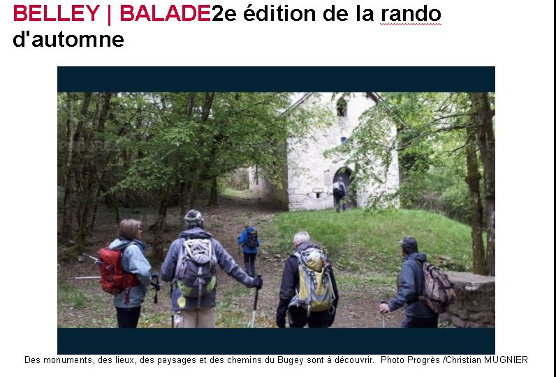 Calendrier Des Randonnees Pedestres Dans Lain 2020.Club Des Randonneurs Pedestres De Belley